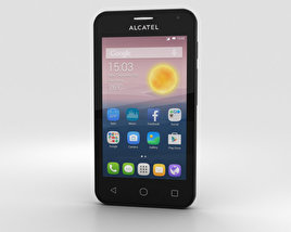 3D model of Alcatel OneTouch Pixi First Gold