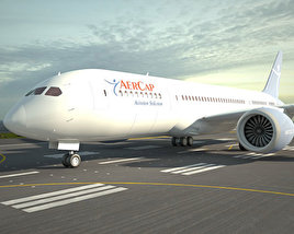 3D model of Boeing 787 Dreamliner