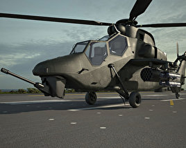 3D model of Eurocopter Tiger