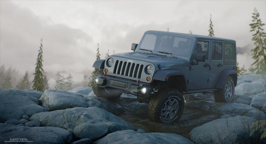 Jeep Rubicon 10th Anniversary by Alex Koryshev