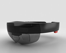 3D model of Microsoft HoloLens