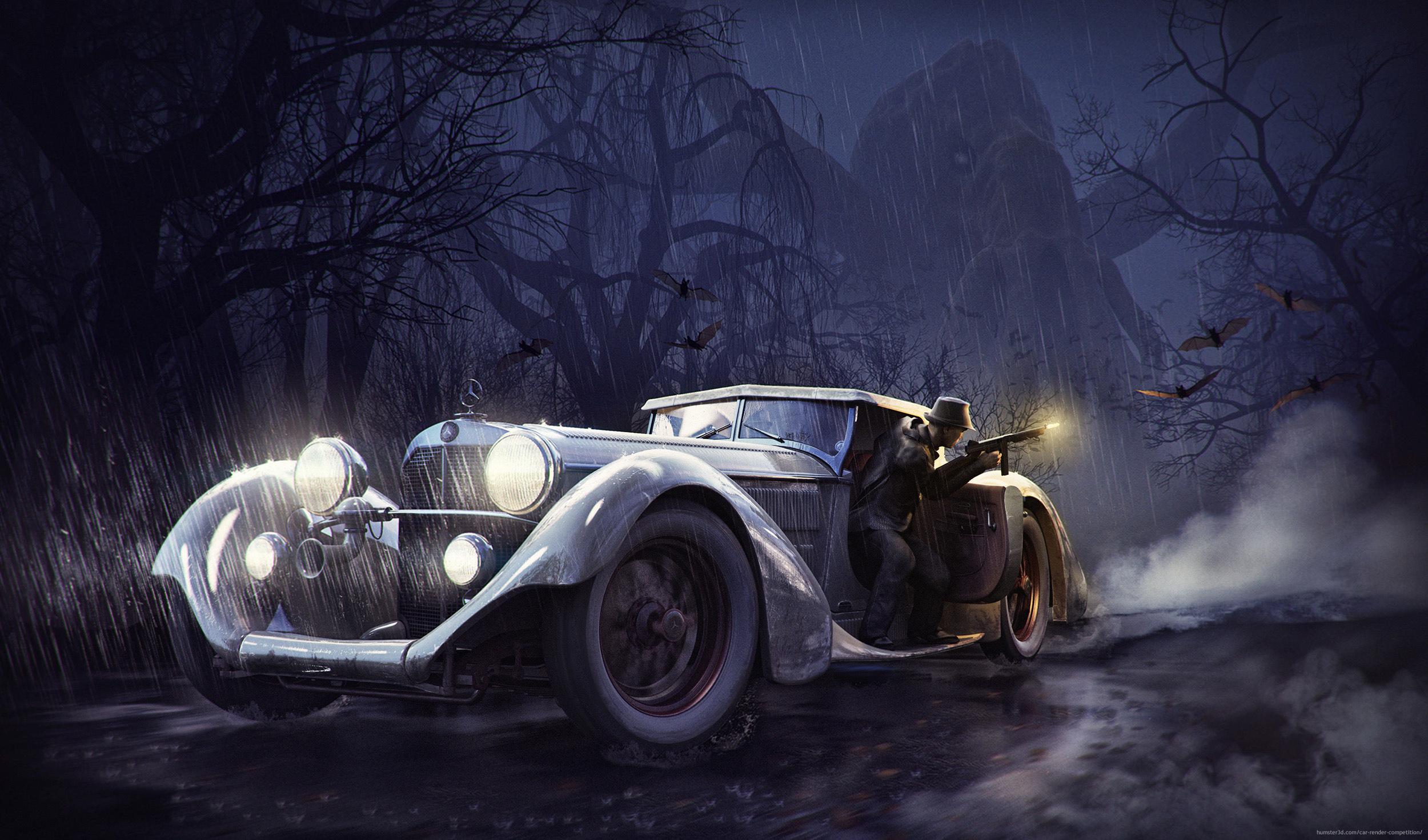 Mr Benz and The Bulking Shape by Bartosz Domiczek