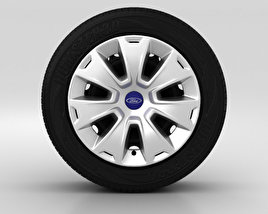 3D model of Ford Mondeo Wheel 16 inch 001