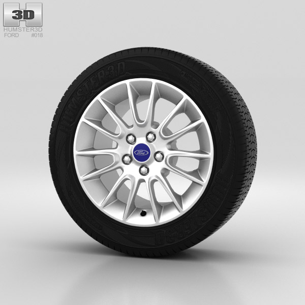 Ford Mondeo Wheel 16 inch 002 3d model