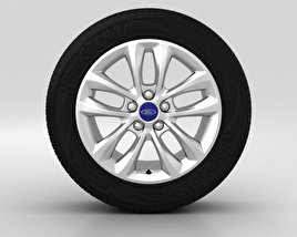 3D model of Ford Mondeo Wheel 16 inch 005