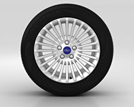 3D model of Ford Mondeo Wheel 16 inch 007