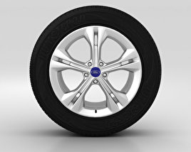 3D model of Ford Mondeo Wheel 17 inch 001