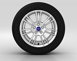3D model of Ford Mondeo Wheel 17 inch 002