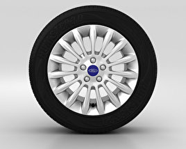 3D model of Ford Mondeo Wheel 17 inch 003
