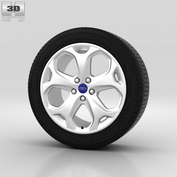 Ford Mondeo Wheel 18 inch 001 3d model