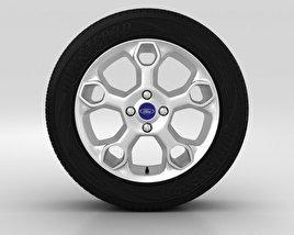Ford Fiesta Wheel 15 inch 002 3D model
