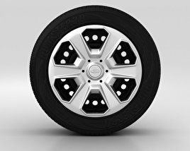 3D model of Ford Fiesta Wheel 15 inch 003