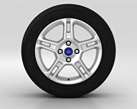 3D model of Ford Fiesta Wheel 16 inch 001