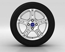 Ford Fiesta Wheel 16 inch 001 3D model