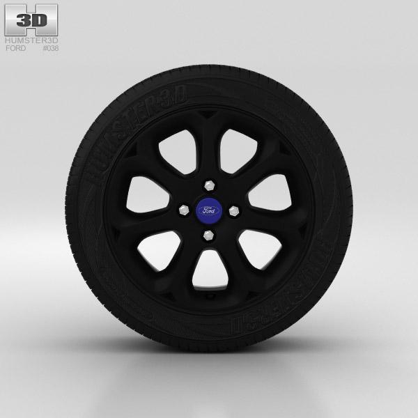 Ford Fiesta Wheel 16 inch 003 3D model