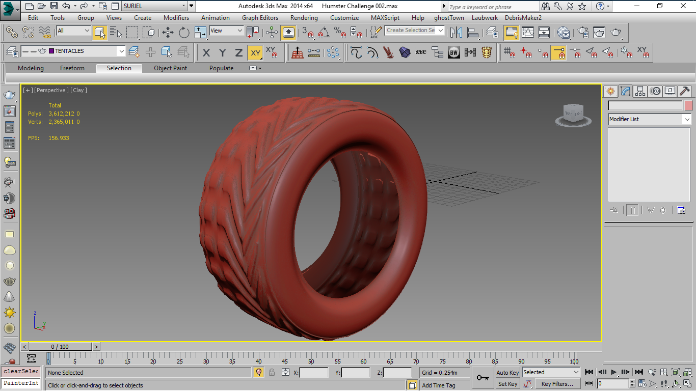 Modeling bus tires