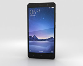 Xiaomi Redmi Note 3 Gray 3D model