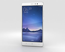 3D model of Xiaomi Redmi Note 3 Silver