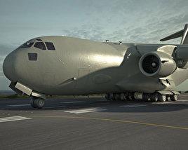 3D model of Boeing C-17 Globemaster III