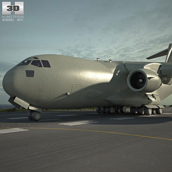 Boeing C-17 Globemaster III 3D model