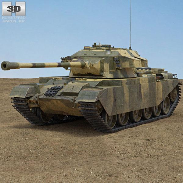 Centurion Tank 3D model