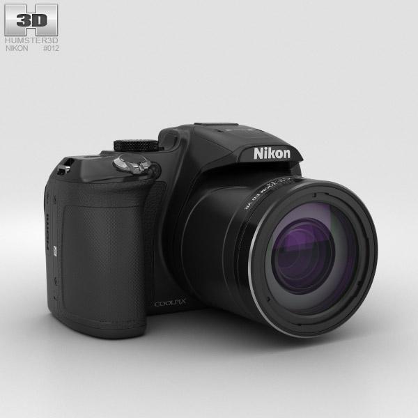 Nikon Coolpix P610 Black 3D model