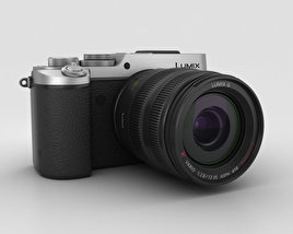 3D model of Panasonic Lumix DMC-GX8 Silver