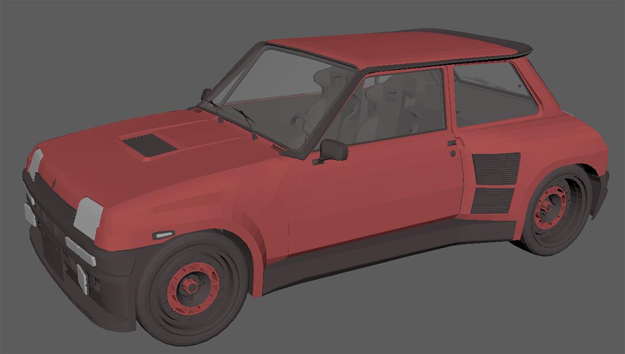 Modeling of R5 GT Turbo