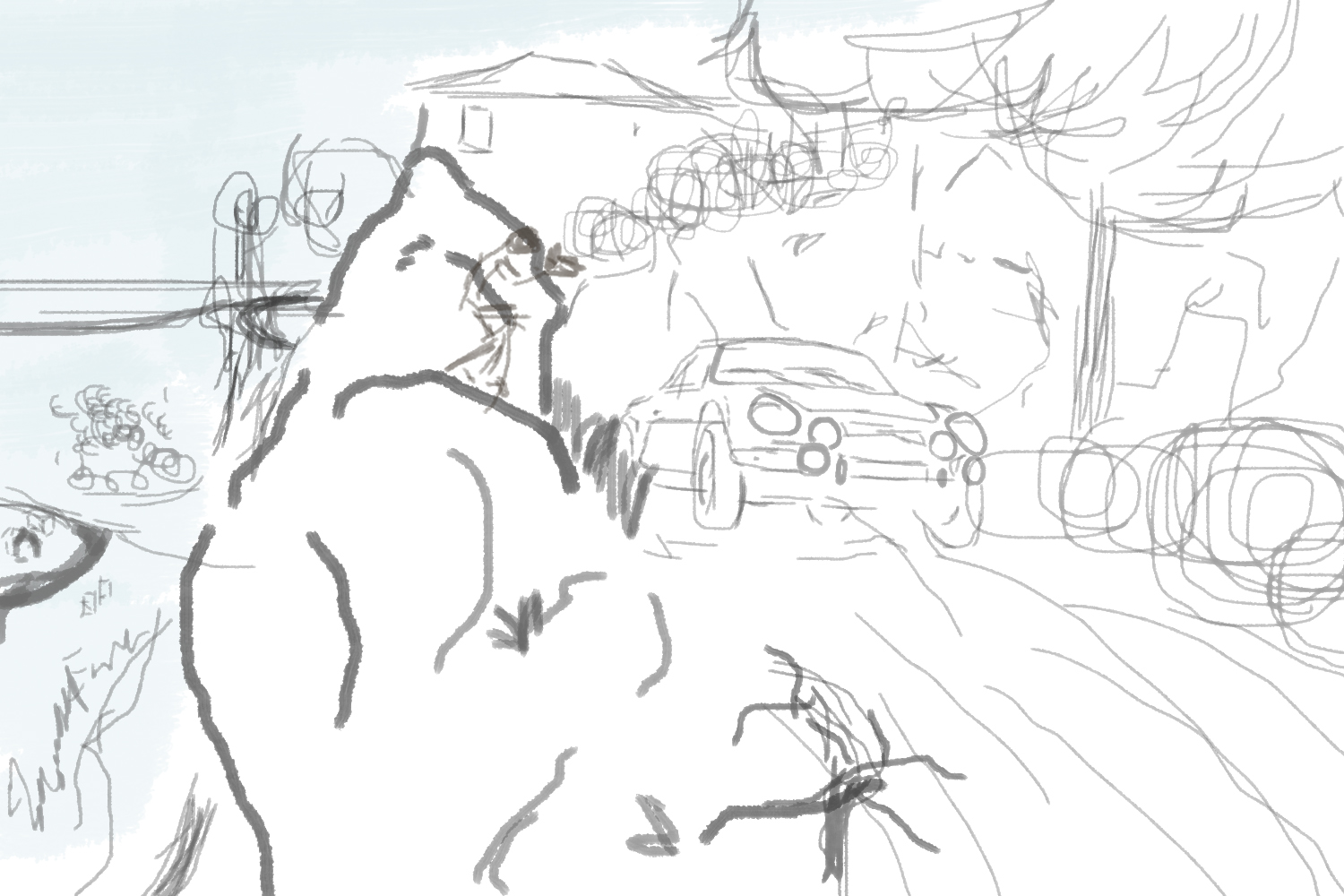 Sketching is the best way to visualize what I want to make
