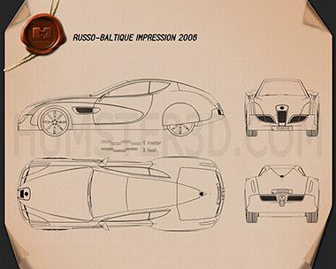 Russo-Balt Impression 2006 Blueprint
