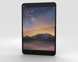 3D model of Xiaomi Mi Pad 2 Dark Grey