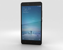 3D model of Xiaomi Redmi Note 2 Black