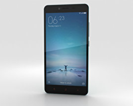 3D model of Xiaomi Redmi Note 2 Blue
