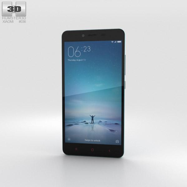 Xiaomi Redmi Note 2 Blue 3D model