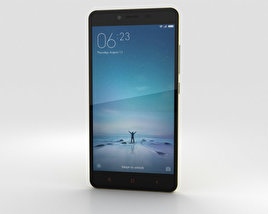 3D model of Xiaomi Redmi Note 2 Yellow