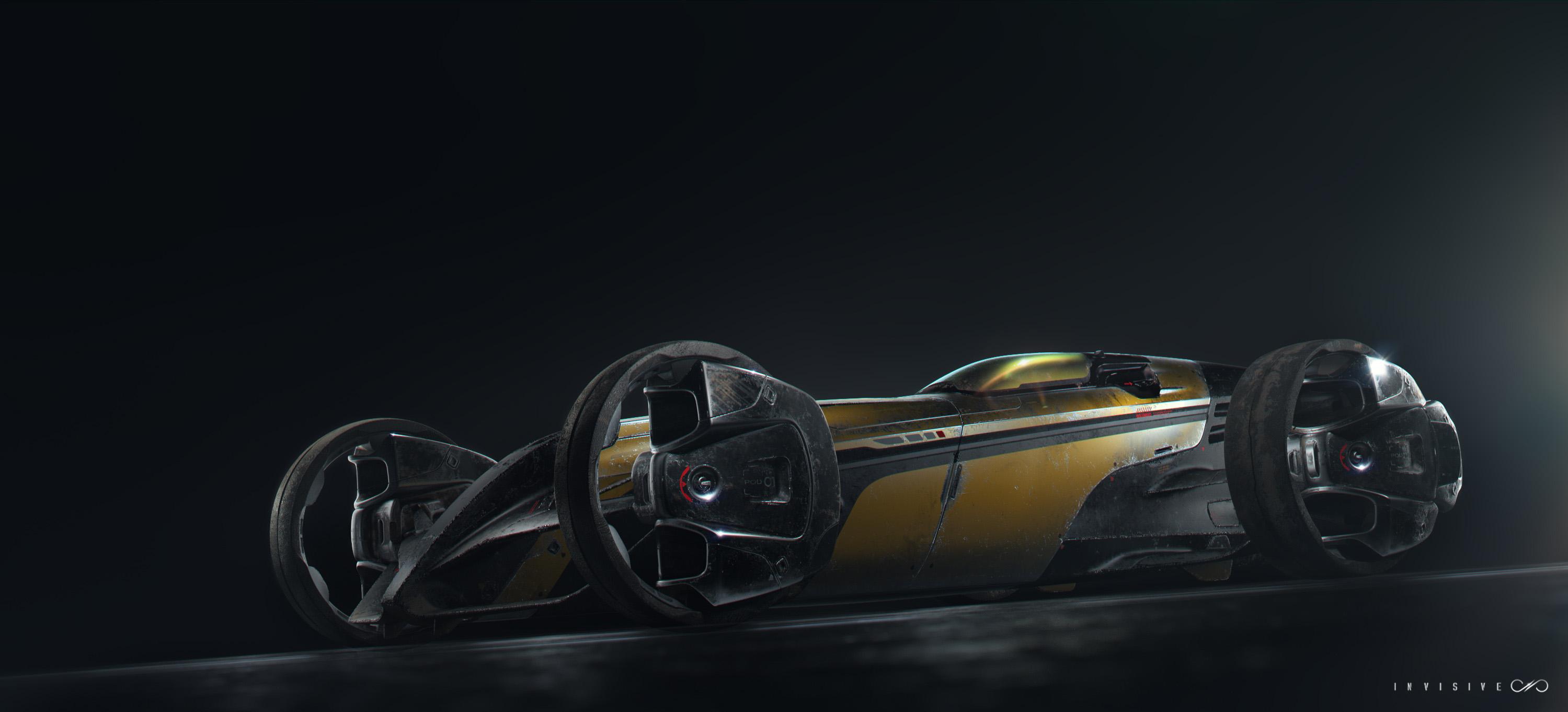 Test render of the Desert Runner