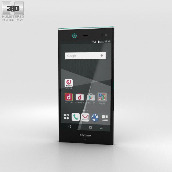 Fujitsu Arrows NX F-02H Black 3D model