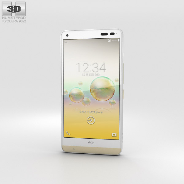 3D model of Kyocera Digno Rafre Cashmere White