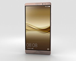 Huawei Mate 8 Mocha Brown 3D model