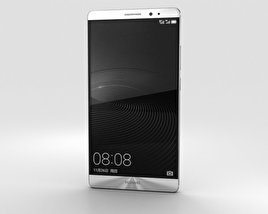 3D model of Huawei Mate 8 Moonlight Silver