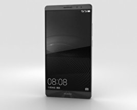 3D model of Huawei Mate 8 Space Gray