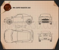 Mini Cooper roadster 2013 Blueprint