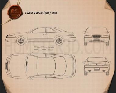 Lincoln Mark 1998 Blueprint