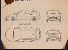 Ford Focus ST 2012 Blueprint
