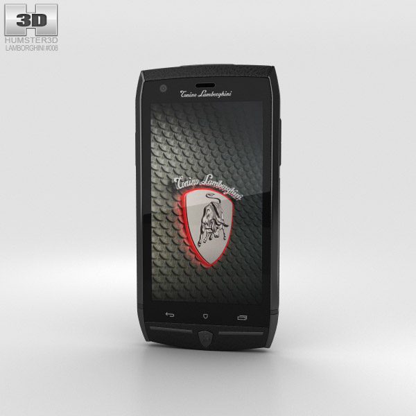 3D model of Tonino Lamborghini 88 Black
