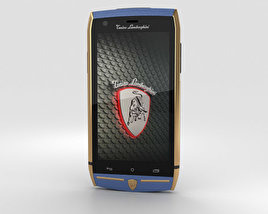 3D model of Tonino Lamborghini 88 Gold-Blue