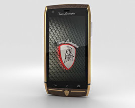 3D model of Tonino Lamborghini 88 Gold-Brown
