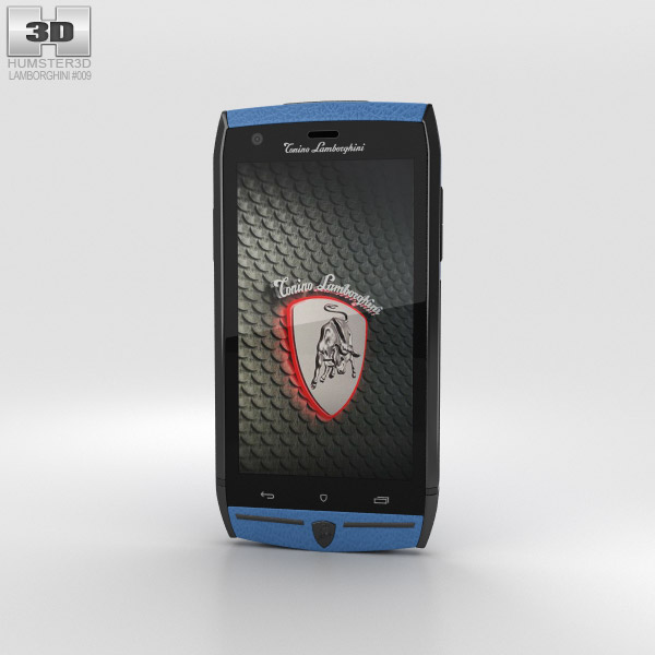 3D model of Tonino Lamborghini 88 Blue