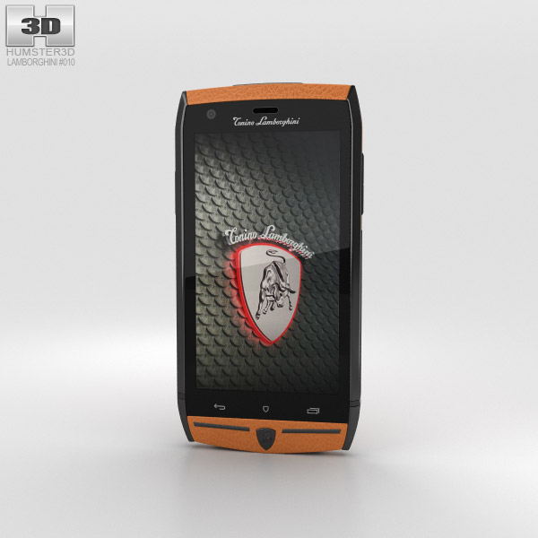 3D model of Tonino Lamborghini 88 Orange