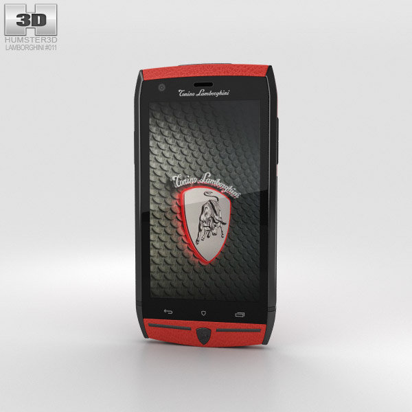 3D model of Tonino Lamborghini 88 Red